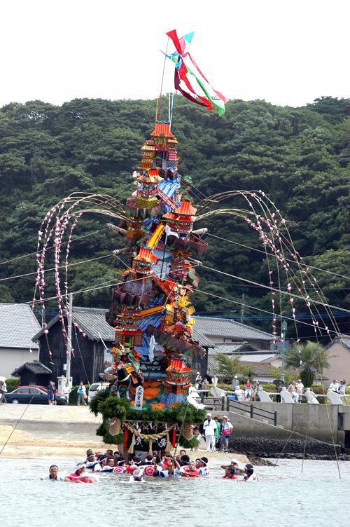 平成21年海を渡る山笠